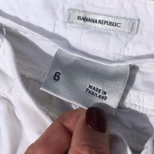 Banana Republic Pants - 💥NWOT💥Vintage Banana Republic white corduroys.
